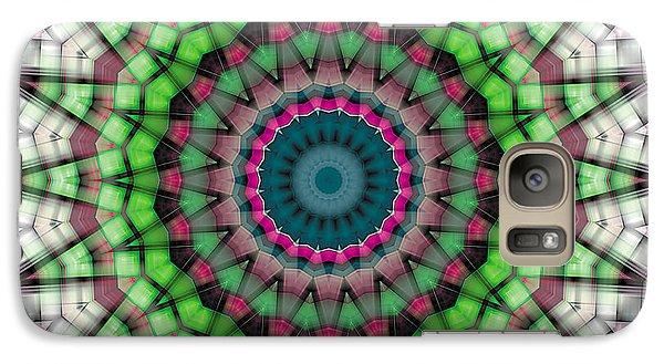Galaxy Case featuring the digital art Mandala 26 by Terry Reynoldson