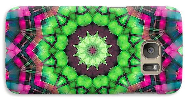Galaxy Case featuring the digital art Mandala 29 by Terry Reynoldson