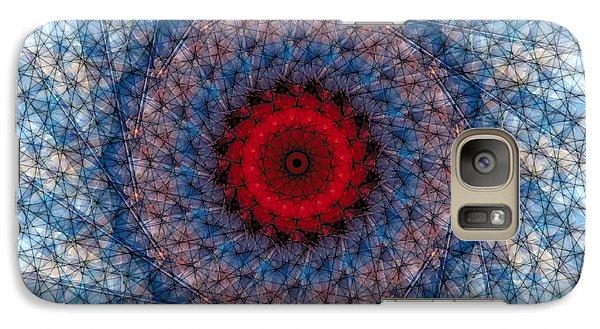 Galaxy Case featuring the digital art Mandala 3 by Terry Reynoldson