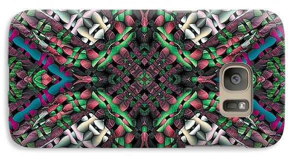 Galaxy Case featuring the digital art Mandala 32 by Terry Reynoldson