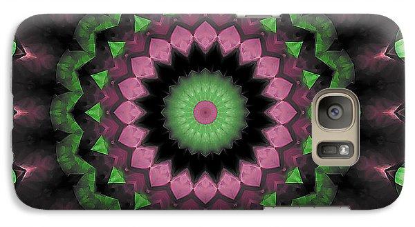 Galaxy Case featuring the digital art Mandala 34 by Terry Reynoldson