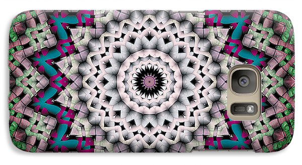 Galaxy Case featuring the digital art Mandala 37 by Terry Reynoldson