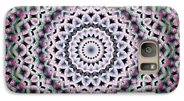 Galaxy Case featuring the digital art Mandala 38 by Terry Reynoldson
