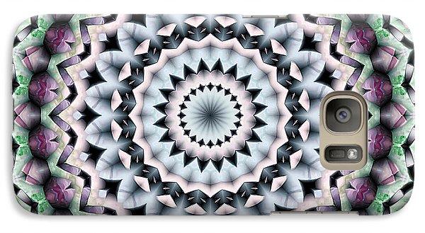 Galaxy Case featuring the digital art Mandala 40 by Terry Reynoldson