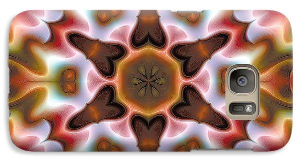 Galaxy Case featuring the digital art Mandala 68 by Terry Reynoldson