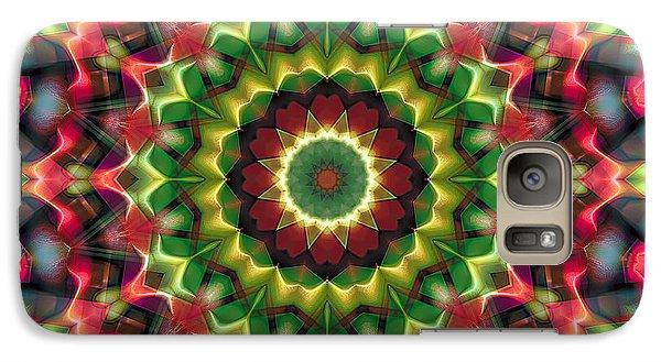 Galaxy Case featuring the digital art Mandala 70 by Terry Reynoldson