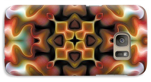 Galaxy Case featuring the digital art Mandala 76 by Terry Reynoldson