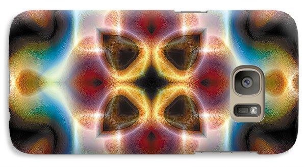 Galaxy Case featuring the digital art Mandala 77 by Terry Reynoldson