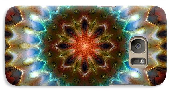 Galaxy Case featuring the digital art Mandala 79 by Terry Reynoldson