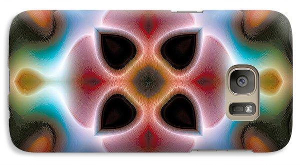 Galaxy Case featuring the digital art Mandala 82 by Terry Reynoldson