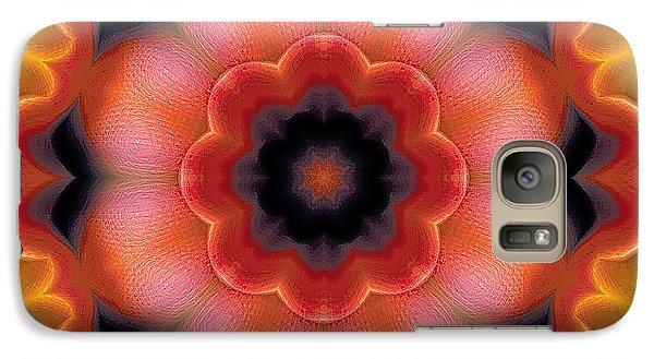 Galaxy Case featuring the digital art Mandala 91 by Terry Reynoldson