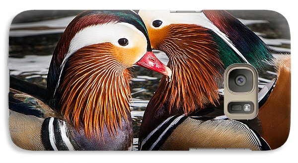 Galaxy Case featuring the photograph Mandarin Lovers by John Wadleigh