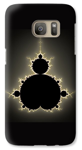 Mandelbrot Set Square Format Art Galaxy S7 Case by Matthias Hauser