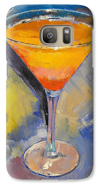 Mango Galaxy S7 Case - Mango Martini by Michael Creese