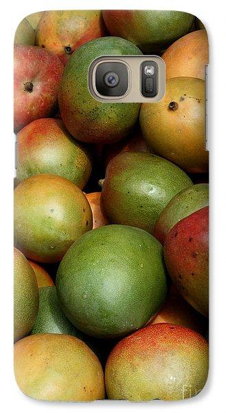 Mangoes Galaxy Case by Carol Groenen