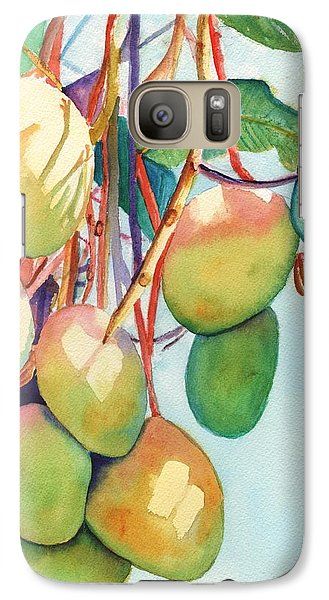 Mango Galaxy S7 Case - Mangoes by Marionette Taboniar