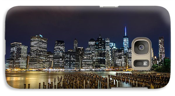 Manhattan Skyline - New York - Usa Galaxy S7 Case by Larry Marshall
