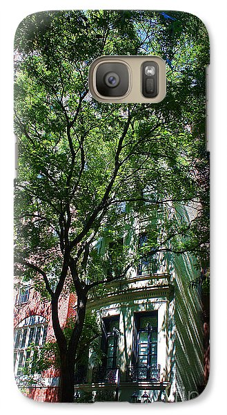 Galaxy Case featuring the photograph Manhattan Upper East Side Late Summer by Andy Prendy