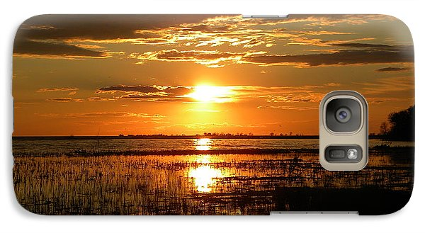 Galaxy Case featuring the photograph Manitoba Sunset by James Petersen