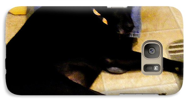 Galaxy Case featuring the photograph Man's Best Friend by Barbara Griffin