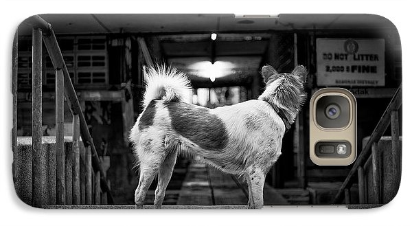 Galaxy Case featuring the photograph Man's Best Friend by Dean Harte