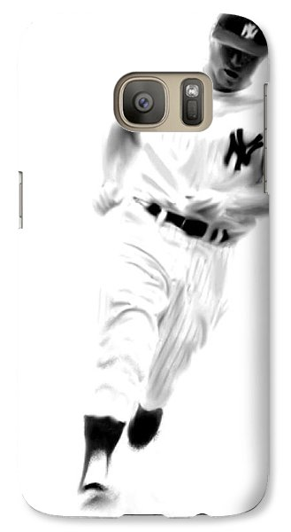 Mantles Gate  Mickey Mantle Galaxy Case by Iconic Images Art Gallery David Pucciarelli