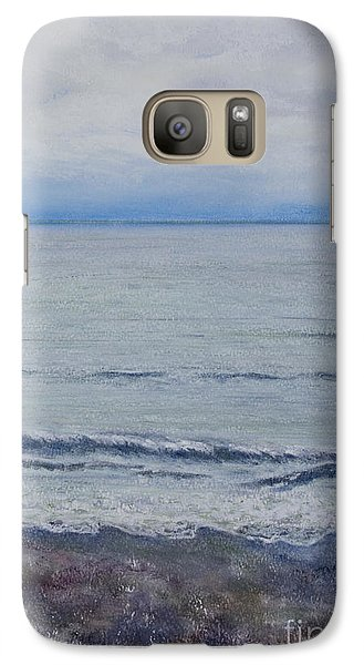 Galaxy Case featuring the painting Manx Mist by Stanza Widen