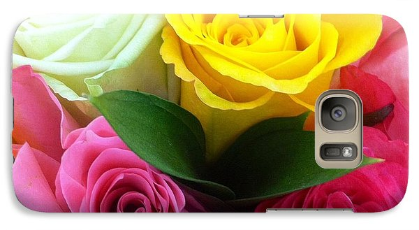 Galaxy Case featuring the photograph Many Roses by Alohi Fujimoto