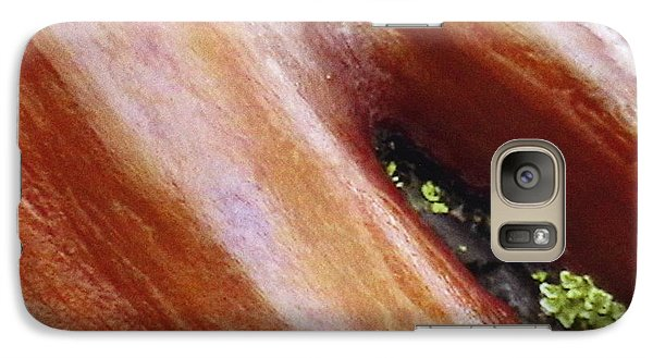 Galaxy Case featuring the photograph Manzanita Bark by Patrick Morgan