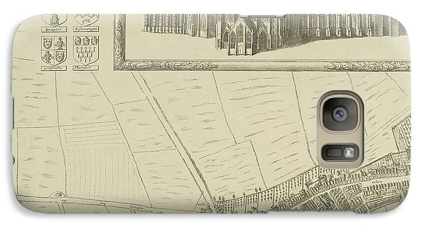 Map Of Westminster In The City Of London Galaxy S7 Case by British Library