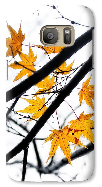 Galaxy Case featuring the photograph Maple Leaves by Jonathan Nguyen