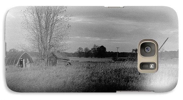 Galaxy Case featuring the photograph Maple Ridge Rd Farm by Daniel Thompson
