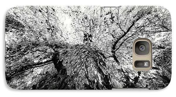 Galaxy Case featuring the photograph Maple Tree Inkblot by CML Brown