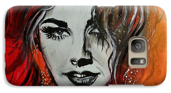 Galaxy Case featuring the painting Mara by Sandro Ramani
