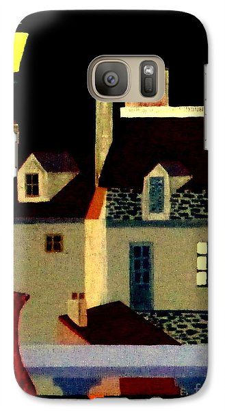 Galaxy Case featuring the painting Marais At Night by Bill OConnor