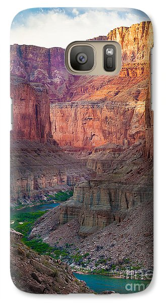 Marble Cliffs Galaxy S7 Case by Inge Johnsson