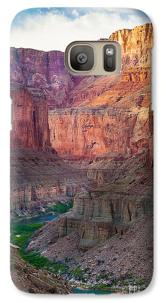 Marble Cliffs Galaxy Case by Inge Johnsson