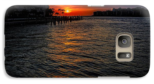 Galaxy S7 Case featuring the photograph Marco Island Sunset 43 by Mark Myhaver