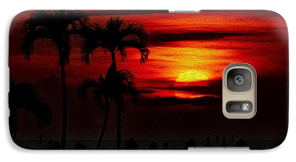Galaxy S7 Case featuring the photograph Marco Island Sunset 59 by Mark Myhaver