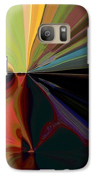 Galaxy Case featuring the mixed media Mardi Gras by Terence Morrissey