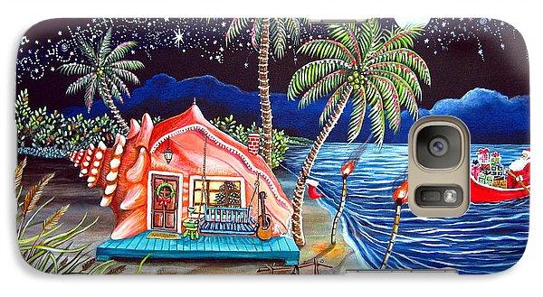 Margaritaville Conch Christmas Galaxy S7 Case