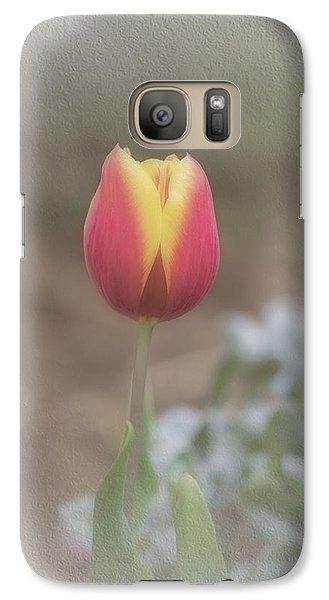 Galaxy Case featuring the photograph Maria by Elaine Teague