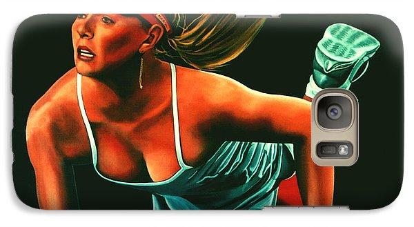 Maria Sharapova  Galaxy S7 Case by Paul Meijering