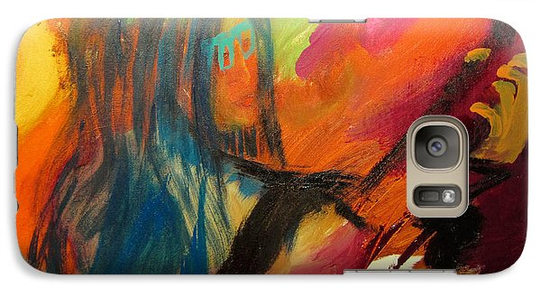 Galaxy Case featuring the painting Marianne by Keith Thue