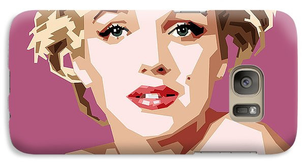Marilyn Galaxy S7 Case by Douglas Simonson