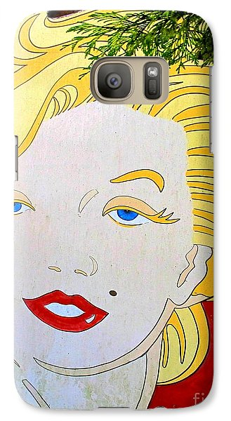 Galaxy Case featuring the photograph Marilyn by Ethna Gillespie