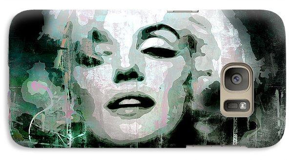 Galaxy Case featuring the digital art Marilyn by Kim Gauge