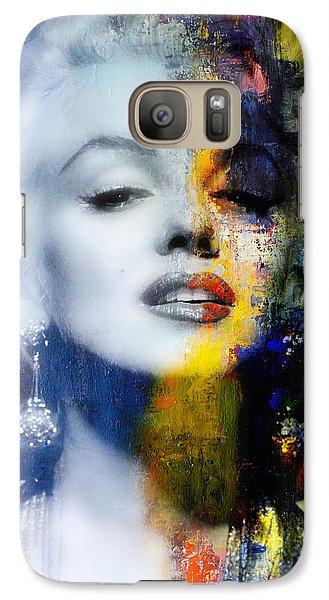 Marilyn Monroe Galaxy S7 Case - Marilyn by Mal Bray