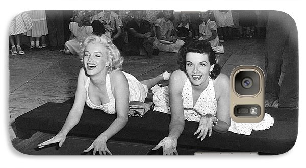 Marilyn Monroe And Jane Russell Galaxy S7 Case