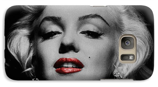 Marilyn Monroe 3 Galaxy S7 Case by Andrew Fare